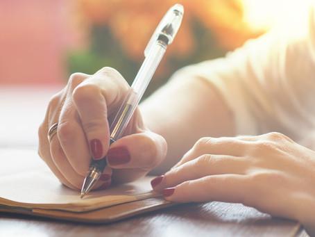On Journaling...