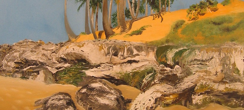 Lagoinha Beach. Oil on Canvas. France.