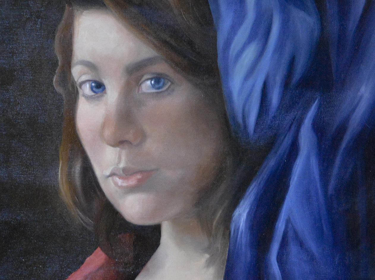 Portrait. Oil on Canvas.