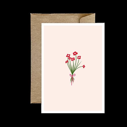 Carte Pliée Bouquet 🌿 1