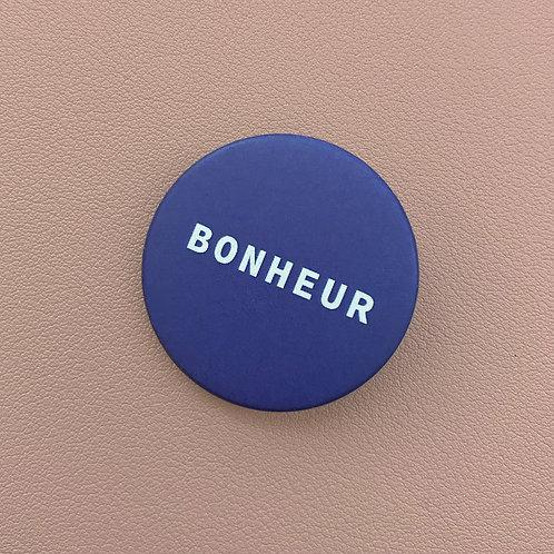 Badge Bonheur Bleu