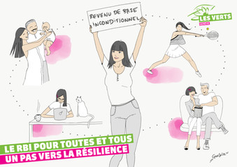 Illustration pour les Vert.e.s Genevois.e.s