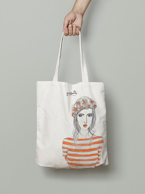 Tote Bag Rayée