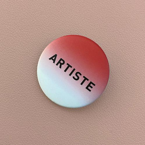 Badge Artiste