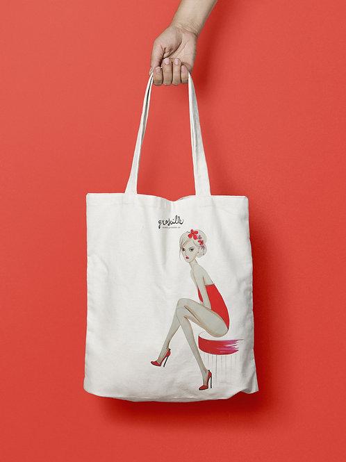 Tote Bag Pétasse Rouge