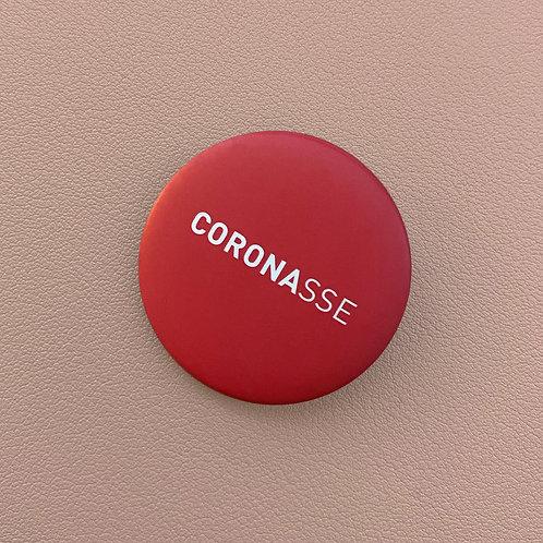 Badge Coronasse Rouge