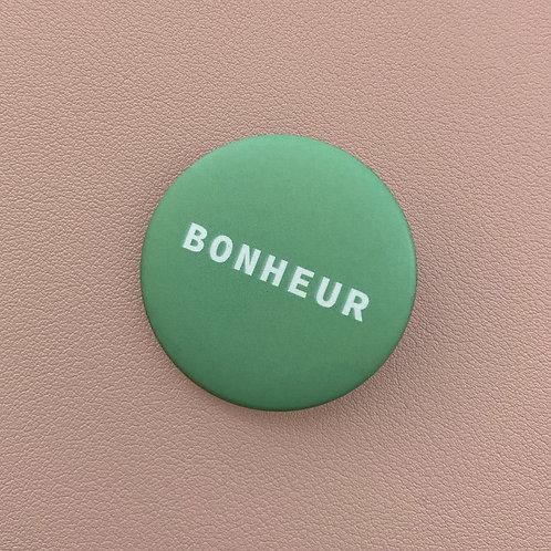Badge Bonheur Vert