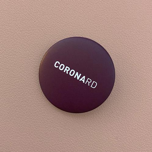 Badge Coronard Bordeaux Foncé