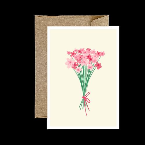 Carte Pliée Bouquet 🌿 3
