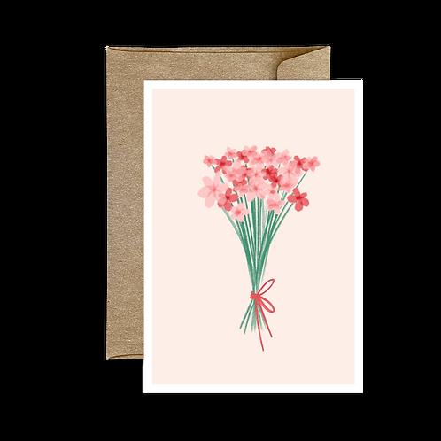 Carte Pliée Bouquet 🌿 2