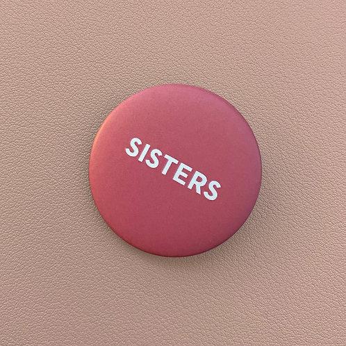 Badge Sisters Rose
