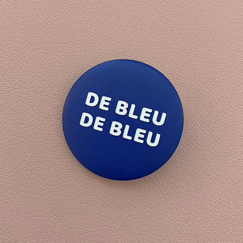 Badge De Bleu De Bleu