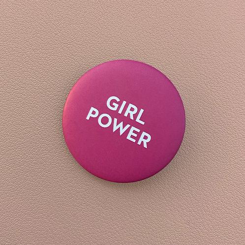 Badge Girl Power Rose