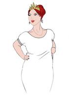 Queen blanche