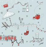 Carte de Noël Bistrot La Fraîche