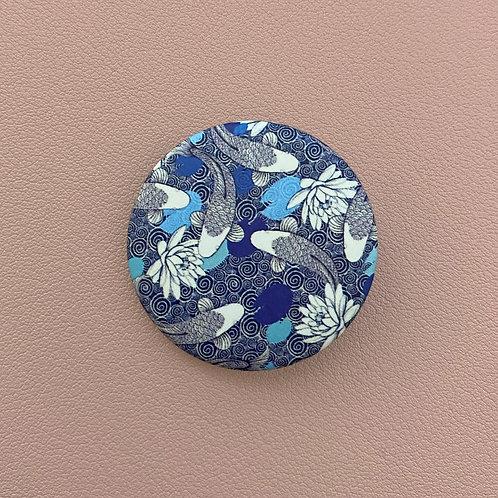 Badge Poissons Bleus