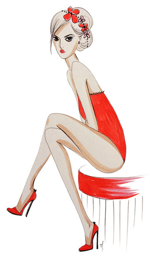 Pétasse rouge