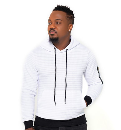 Hoodie pour homme Blanco