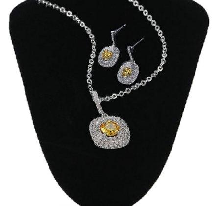 Ensemble de bijoux Cubic Zirconia