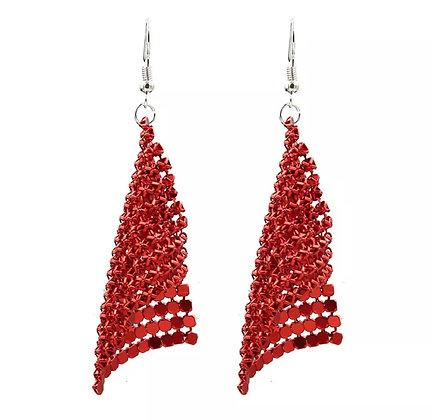 Boucles d'oreilles Charm Red