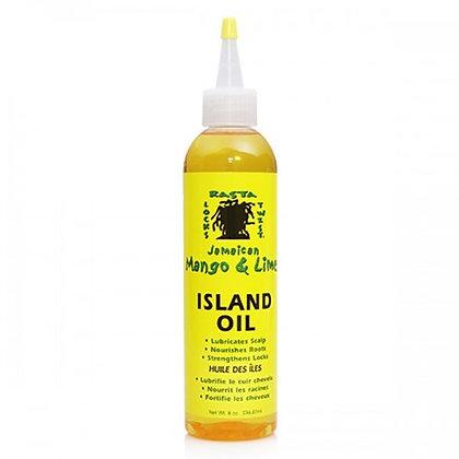 Huile des îles pour cheveux