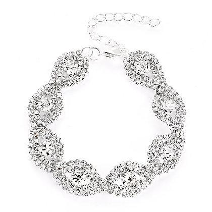 Luxueux bracelet en argent