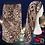 Thumbnail: Bonnet en satin léopard