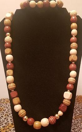 Collier moyen élastique avec bracelet