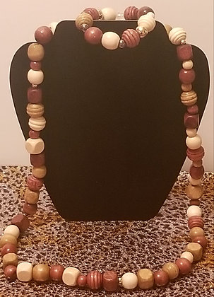 Long collier et bracelet Lakayanm