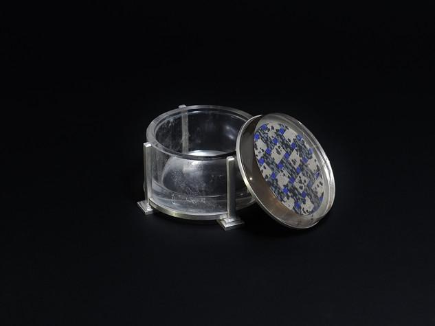 Boîte en quartz fumé