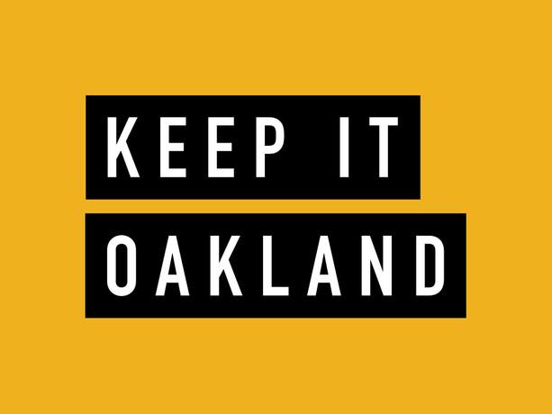 Keep It Oakland