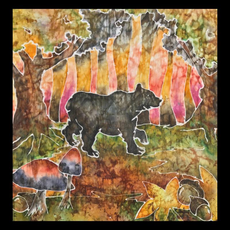Autumn Black Bear