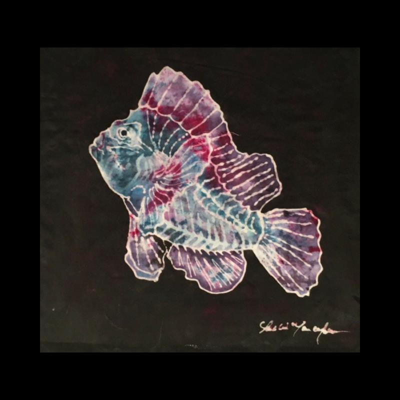 Scorpion Fish Slide (Sold)