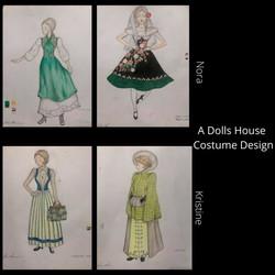 A Dolls House Cotume Design