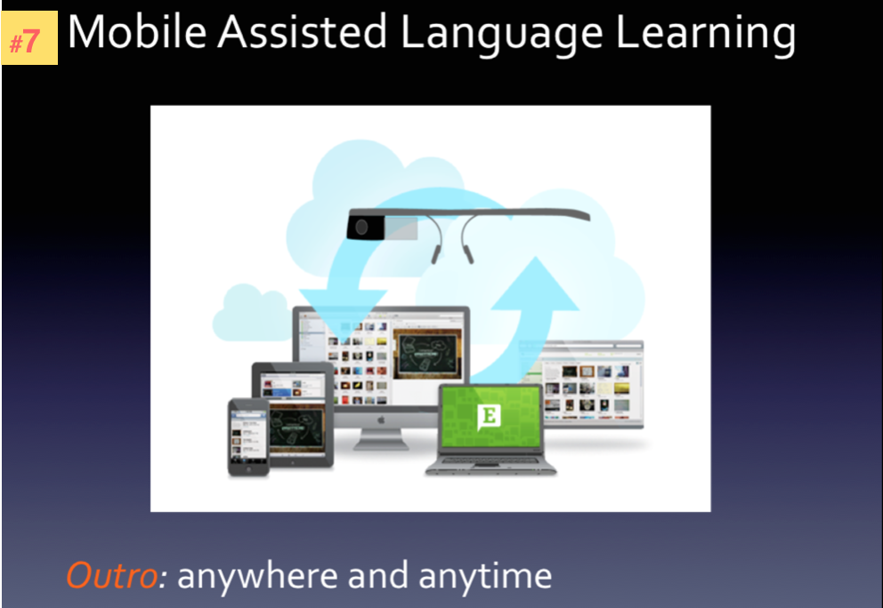Mobile Assisted Language Learning3
