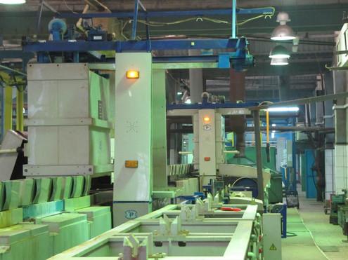 ОАО «Сарапульский электрогенераторный завод» (г. Сарапул) линия фосфатирования и линия оксидирования