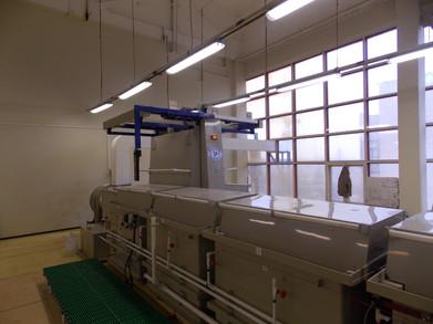 ОАО «Завод «Марс» (г. Торжок) линия гальванического никилирования и линия химического никилирования