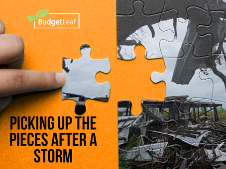 Picking Up The Pieces After A Storm