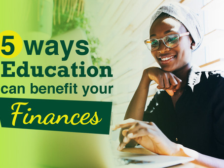 5 Ways Education Can Benefit Your Finances