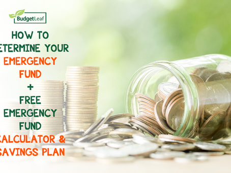 How To Determine Your Emergency Fund