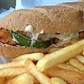 Shiraz Chicken Sandwich
