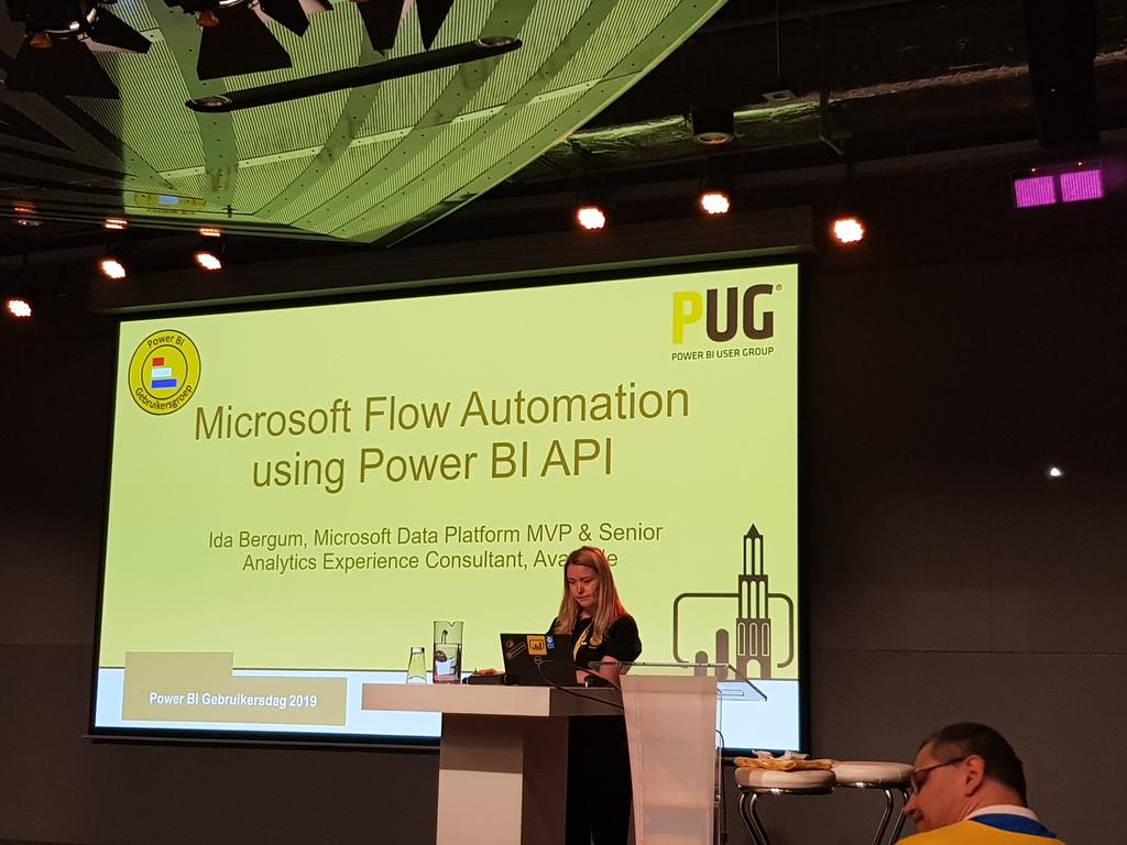Microsoft Flow Automation using Power BI API