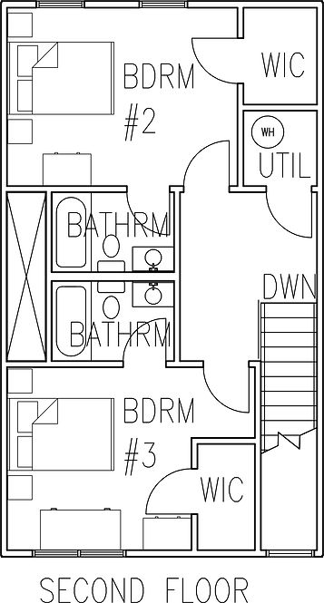 floorplans of luxury off campus student rentals, campbell university.