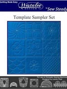 Westalee Design Template Sampler Set LongArm