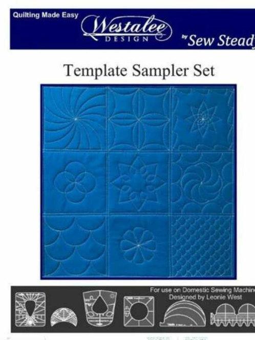 Westalee Design Template Sampler Set High Shank
