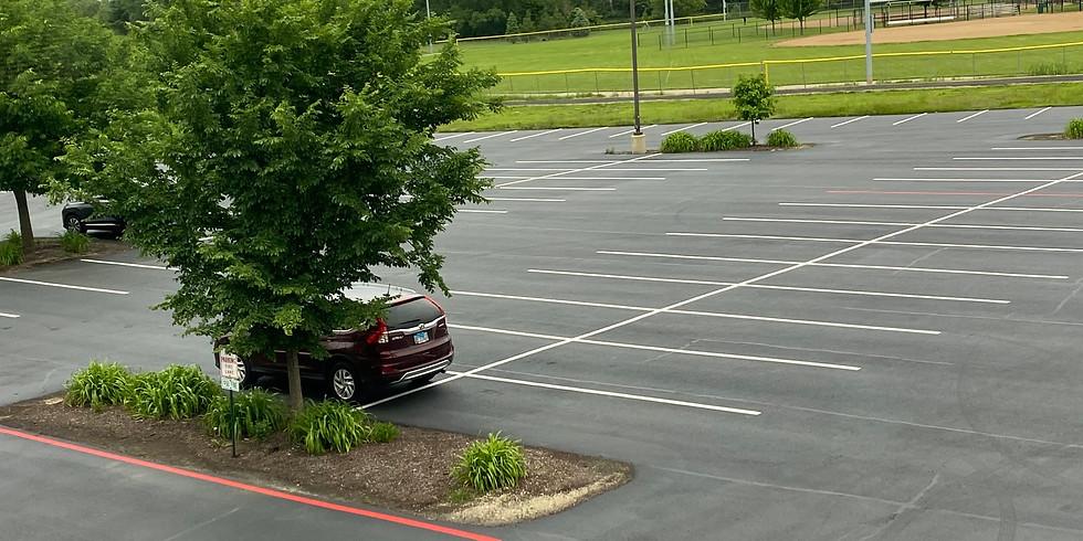 Sunday 6/7th 11am Parking Lot Mass