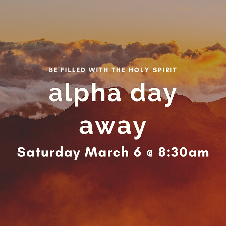 Alpha Holy Spirit Day Winter 2021 Session