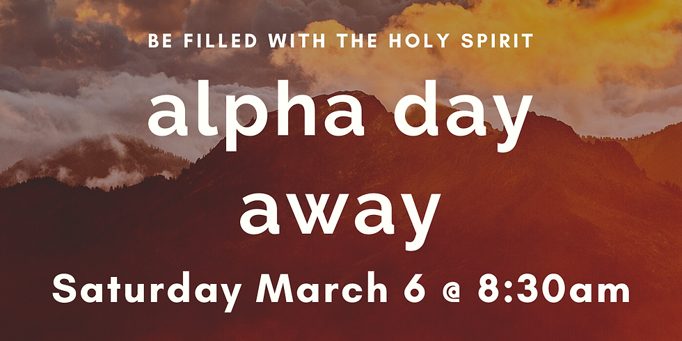 Alpha Holy Spirit Day Winter 2021 Session