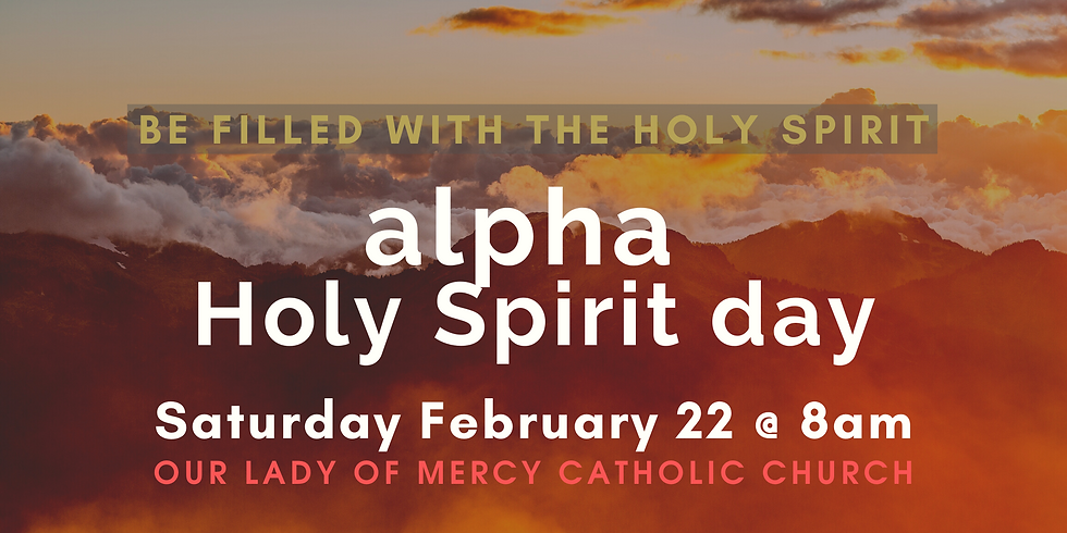 Alpha Holy Spirit Day Feedback Winter 2020