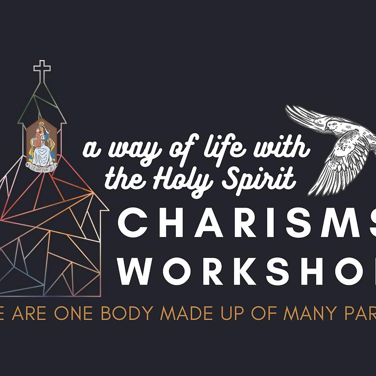 Charisms Workshop on 7/31
